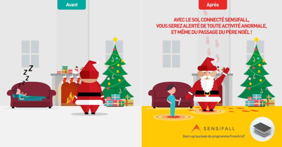 Sensifall Start-up French IoT