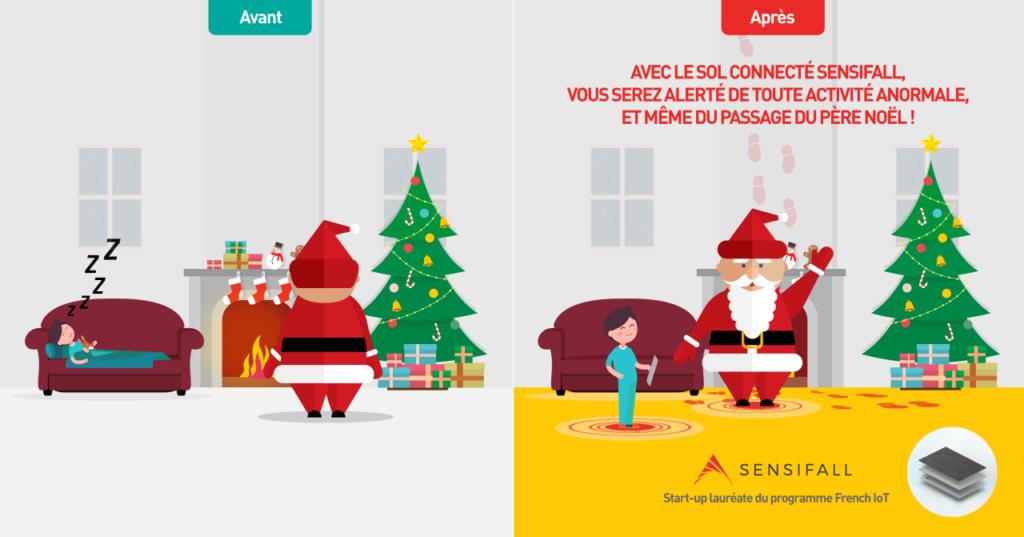 La vie avant/après Sensifall, start-up lauréate du programme French IoT de La Poste