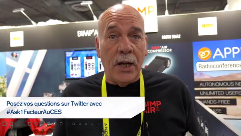 #Ask1FacteurAuCES : Qu'en est-il des innovations pour les cyclistes au CES ?