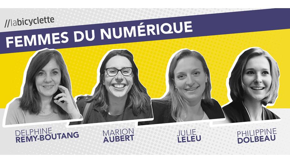 Podcast //labicyclette : Femmes du numérique
