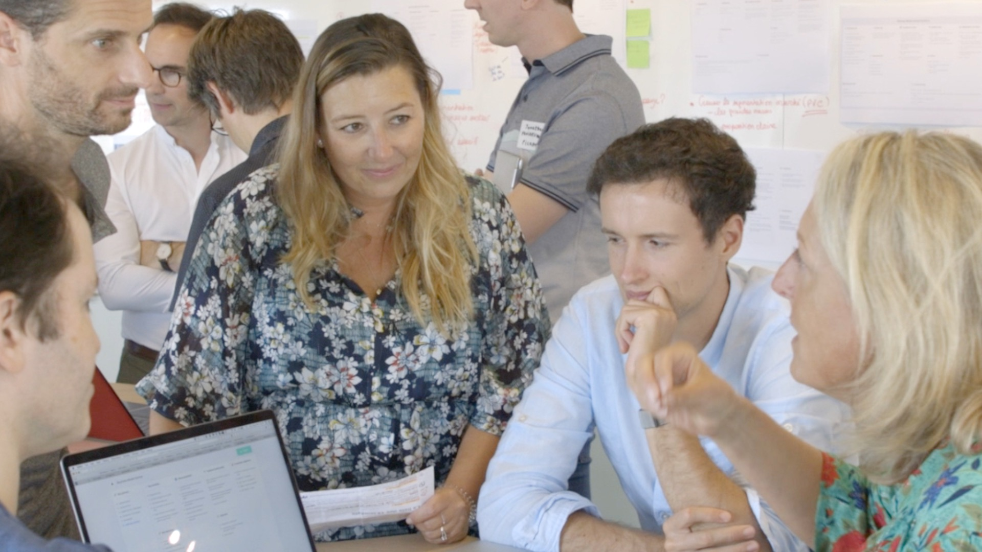 French IoT : L'atelier Business Model Canvas au Bootcamp 2019
