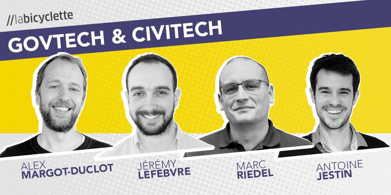 Podcast //labicyclette : GovTech & CivicTech