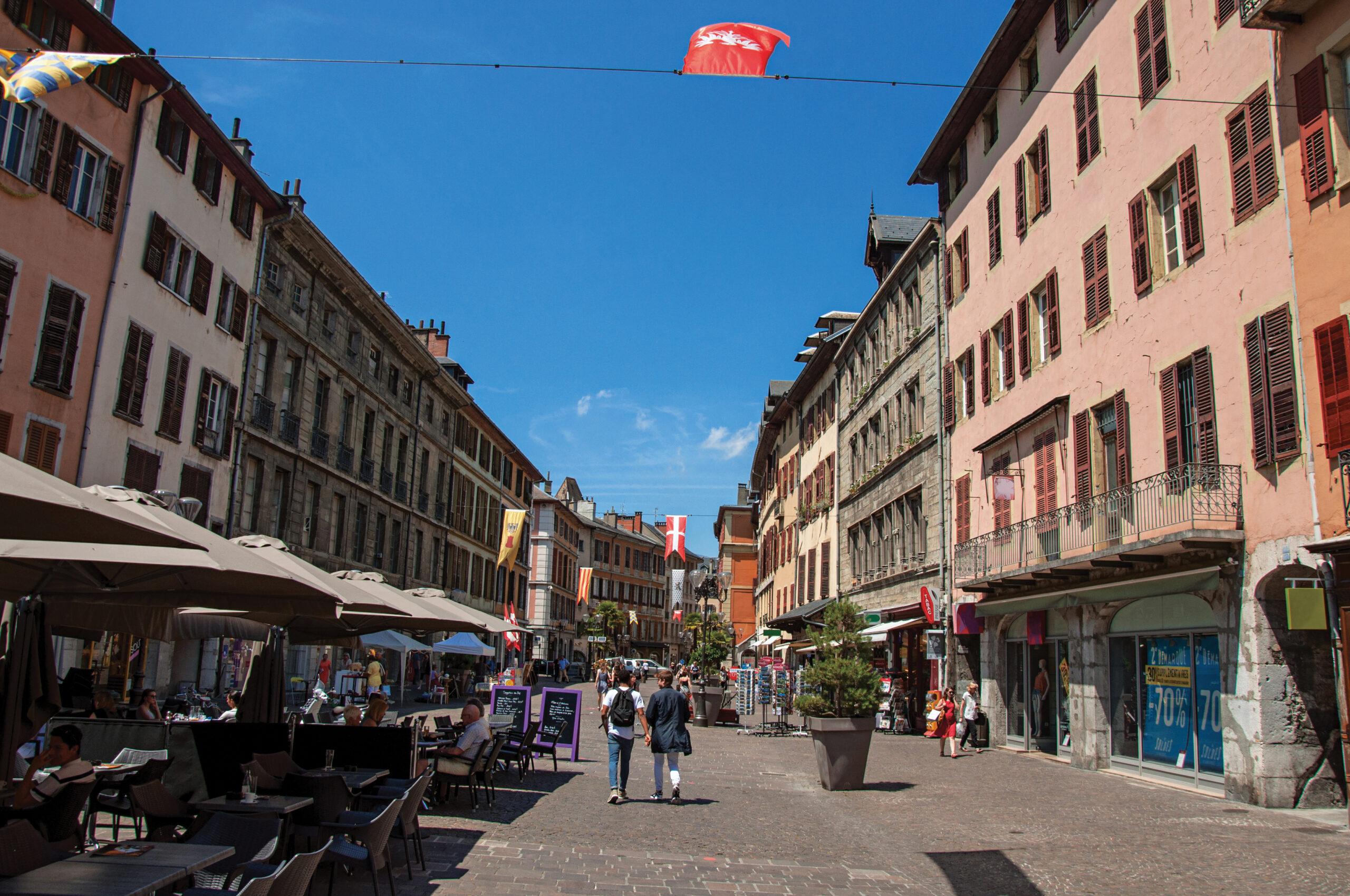 Chambéry, zone-test pour les nouvelles technologies
