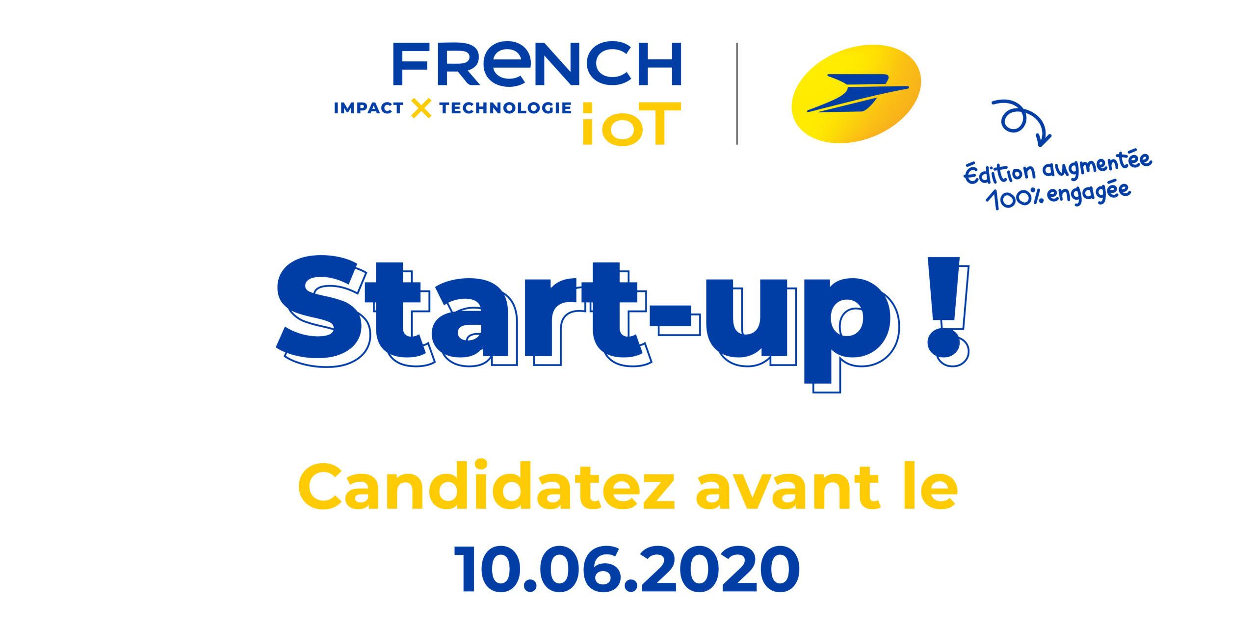 6e édition du concours French IoT 2020 : accompagner le rebond des start-up et la transformation de la société avec des innovations connectées et engagées