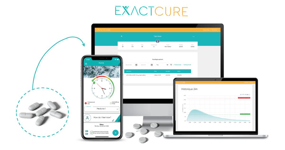 ExactCure, le jumeau numérique pour une médecine personnalisée qui limite les erreurs de traitement