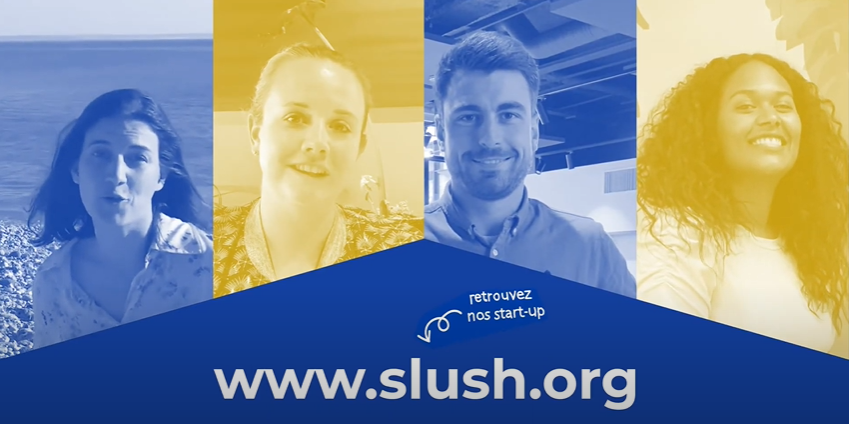 3 start-up French IoT à Slush 2020