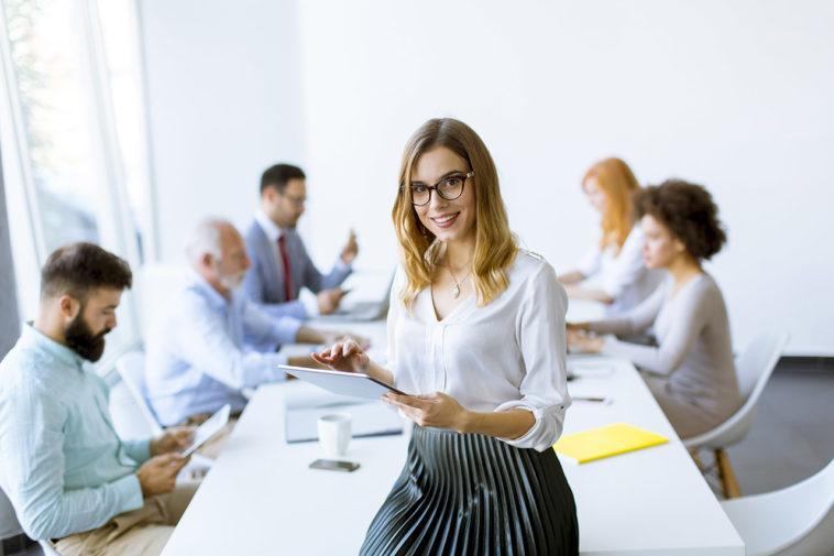 talent manager en réunion